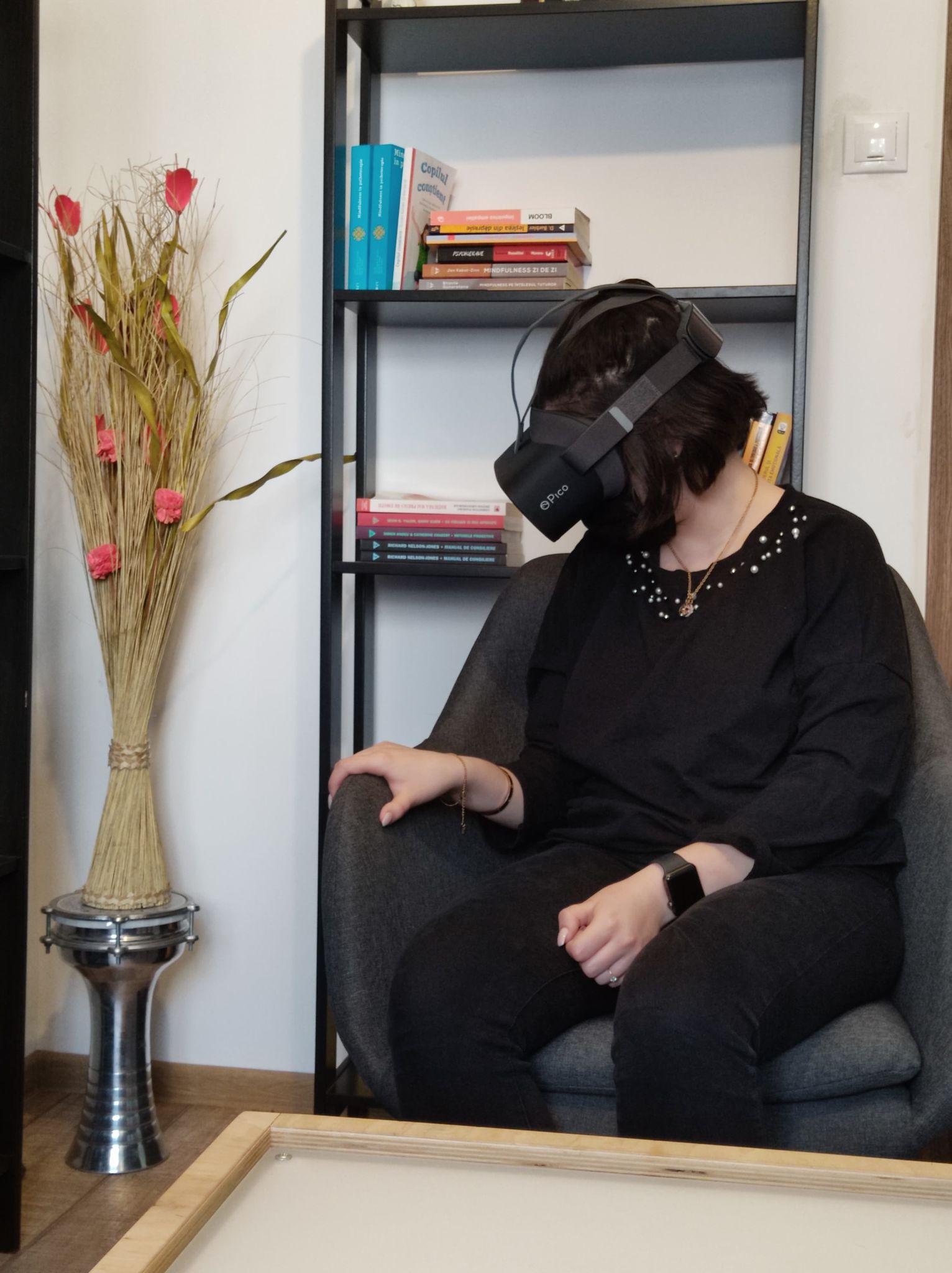 Terapia prin Realitatea Virtuală acum și în Craiova